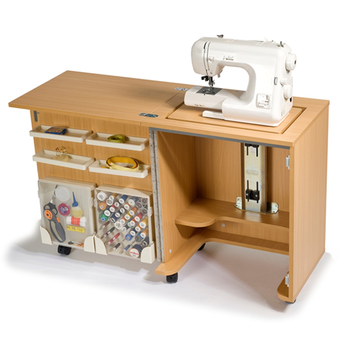 Horn Cabinets. Frank Nutt Sewing Machines ...