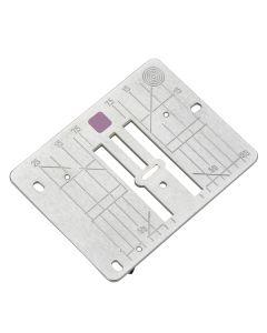 Bernina 9mm Stitch plate with narrow needle opening (5.5mm)