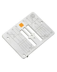 Bernina 4/5/7 Series Straight-Stitch Plate mm/inch