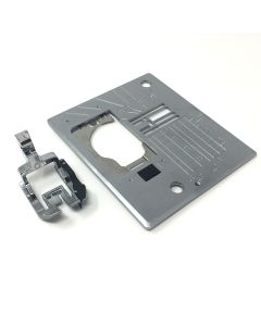 """Janome Acufeed 1/4"""" Seam Foot And Needle Plate"""