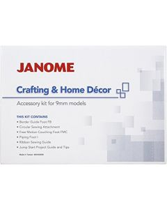 Janome Crafting and Home Decor Accessory Kit