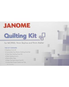 Janome Quilting Accessory Kit - 9900/Atelier 5-9
