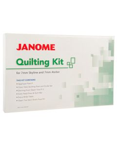 Janome Quilting Accessory Kit - Atelier 3