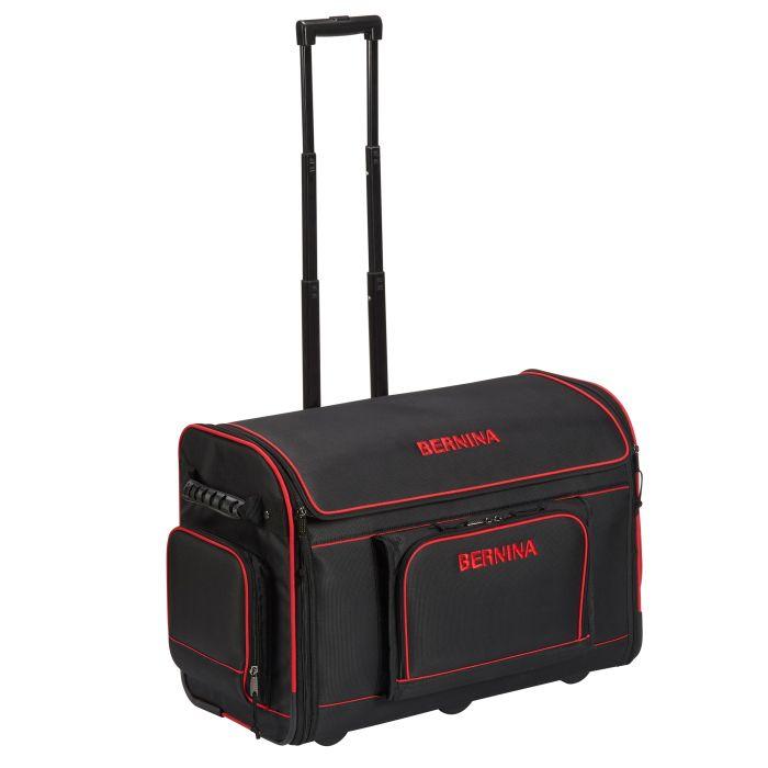 Bernina Embroidery Module Bag - Red | Frank Nutt Sewing Machines Ltd | Buy online