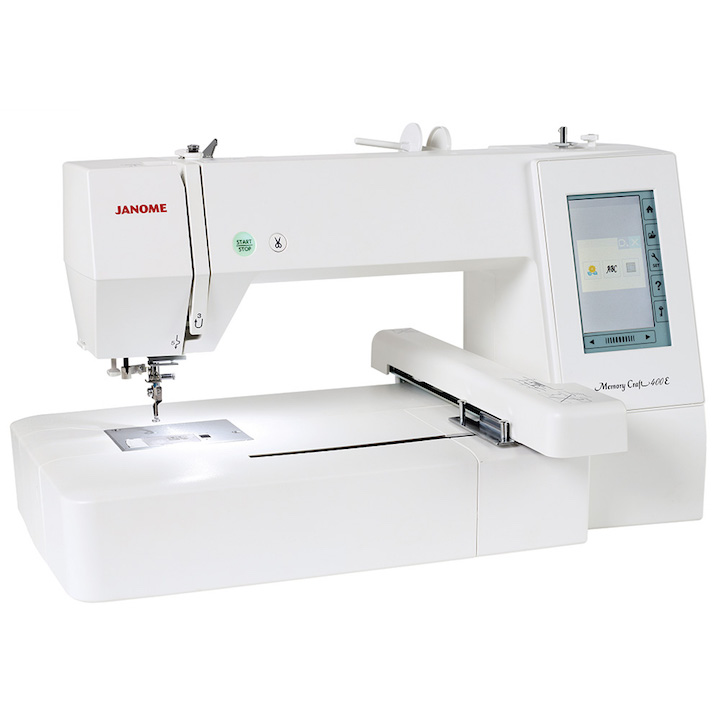 Janome 400e frank nutt sewing machines ltd buy online for Janome memory craft 9500